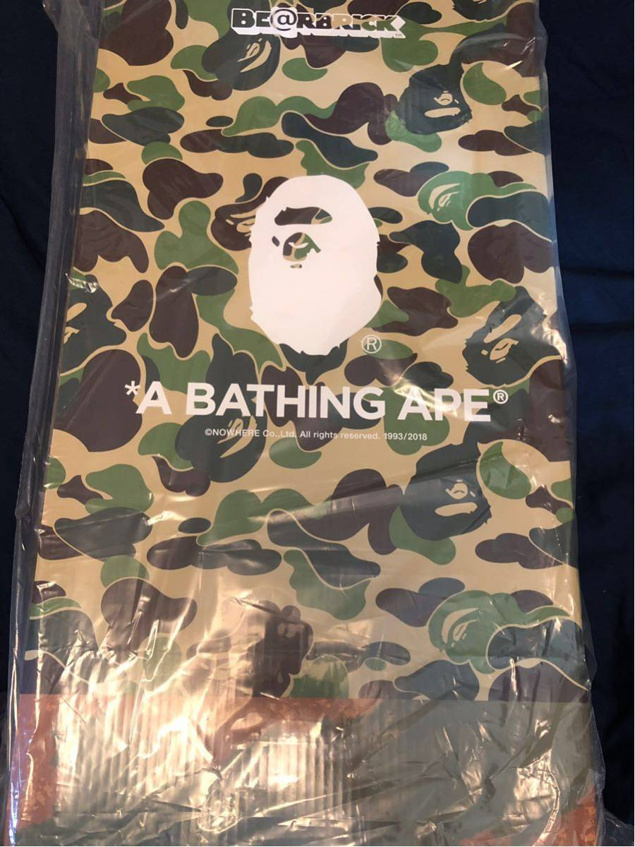 エイプ READYMADE A BATHING APE レディメイド ベアブリック 1000% BEARBRICK BE@RBRICK フィギュア_画像2