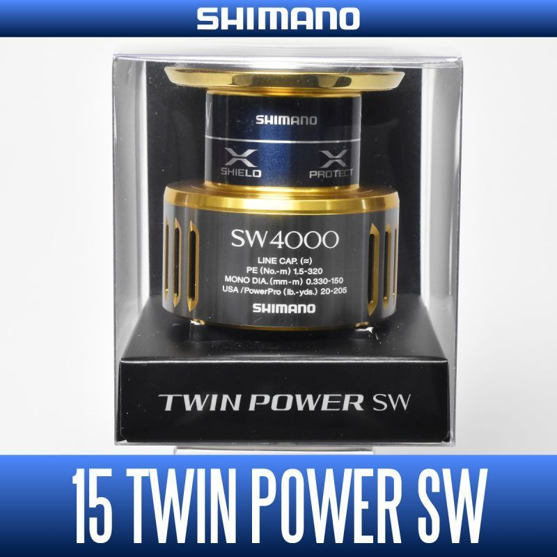 Shimano Genuine 15 Twin Power Sw Spare Spool Various Dimensiones