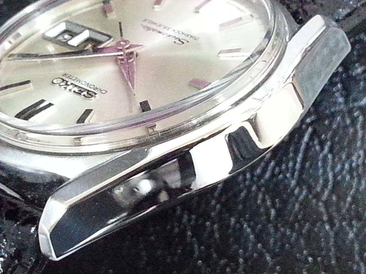 大野時計店 セイコー マチック クロノメーター 獅子メダル 6246-9000 自動巻 1966年3月製造 39石 希少_画像4