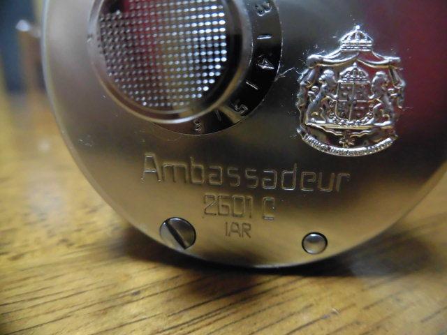 卍ABU ambassadeur 2601c アンバサダー ベイトリール アブガルシア_画像3