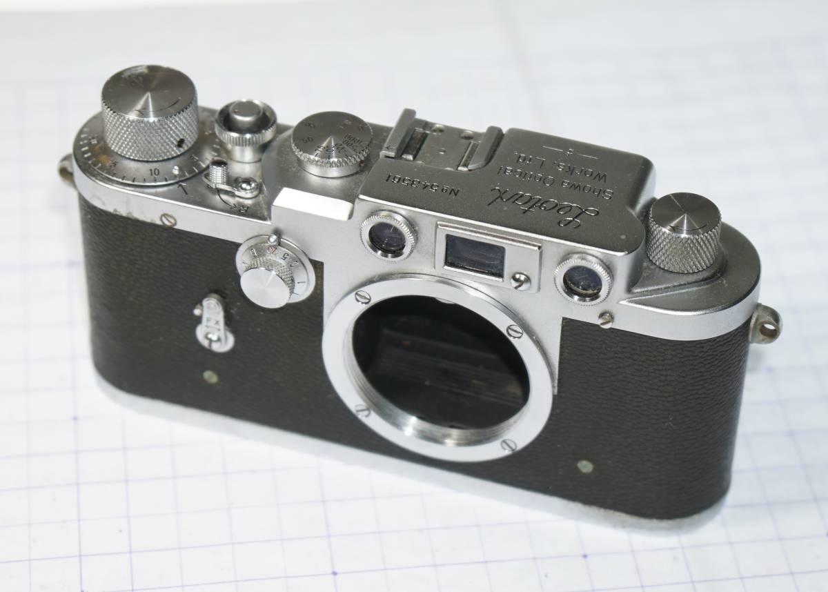 クラシックカメラ・レオタックス・Leotax