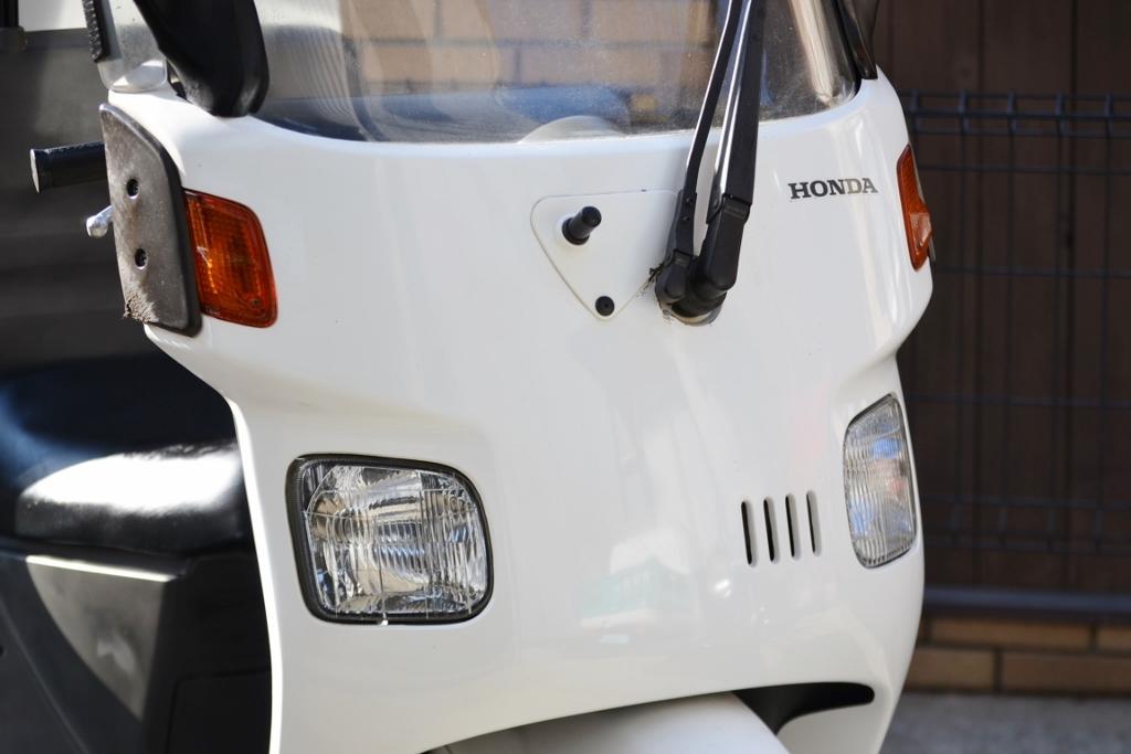 ◆ホンダ ・ジャイロキャノピー・4スト・TA03・ワイドバイザー・大型BOX付き・ミニカー・全国配送&自倍責保険加入可!!◆_画像3
