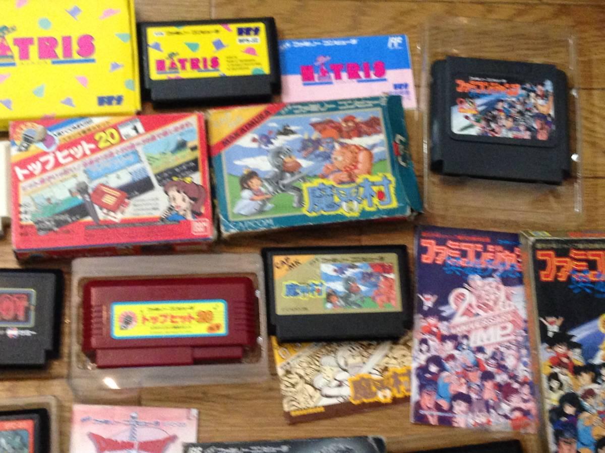 Lot of 24 Nintendo Famicom games Godzilla Mario etc. Boxed ファミコン ゲームソフト ゴジラ 他 箱付き 24本 セット まとめて_画像3