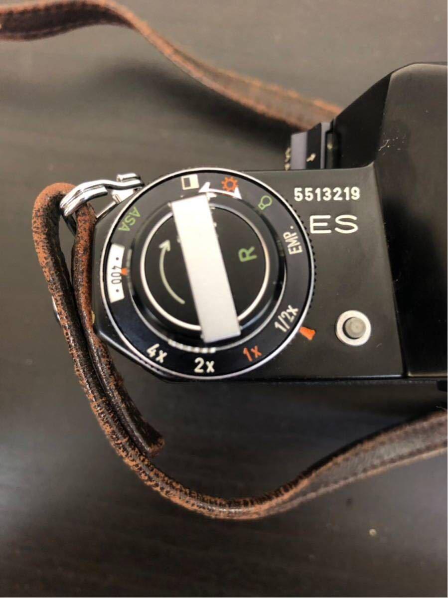 PENTAX ペンタックス SPOTMATIC ES 一眼レフ フィルム カメラ SMC TAKUMAR 50mm f/1.4 1:4 5 レンズ セット_画像4
