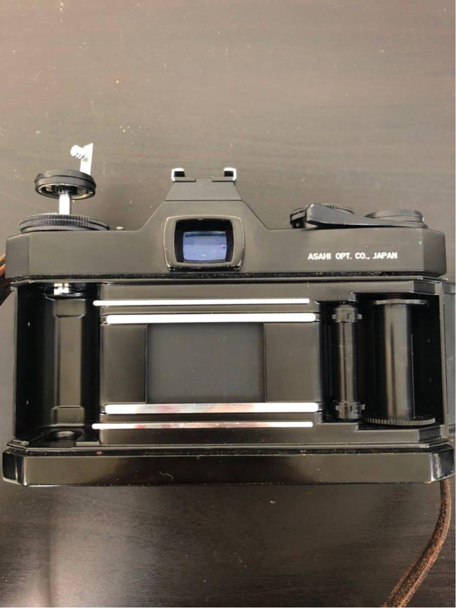 PENTAX ペンタックス SPOTMATIC ES 一眼レフ フィルム カメラ SMC TAKUMAR 50mm f/1.4 1:4 5 レンズ セット_画像5