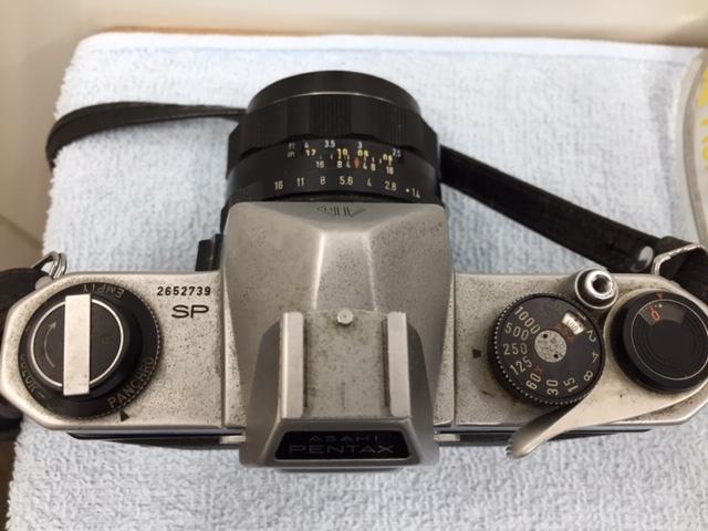 PENTAX ペンタックス 一眼レフカメラ SPOTMATIC F スポーツマチック 1:1.4/50 他2本 おまとめ 付属付 現状品 *3043A_画像4