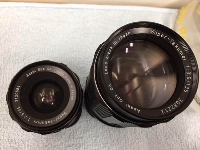 PENTAX ペンタックス 一眼レフカメラ SPOTMATIC F スポーツマチック 1:1.4/50 他2本 おまとめ 付属付 現状品 *3043A_画像6