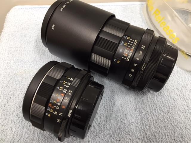 PENTAX ペンタックス 一眼レフカメラ SPOTMATIC F スポーツマチック 1:1.4/50 他2本 おまとめ 付属付 現状品 *3043A_画像7