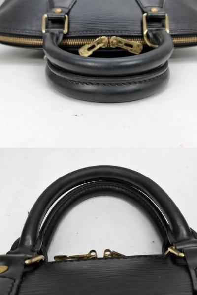 LOUIS VUITTON ルイヴィトン アルマ エピ M52142 ハンドバッグ エピレザー ノワール(黒) トートバッグ レディース_画像8