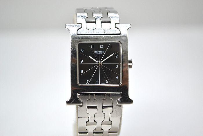 動作確認済み!エルメス HERMES Hウォッチ HH1.210 ブレスレットタイプ 時計 レディース