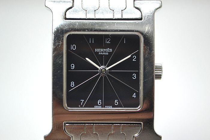 動作確認済み!エルメス HERMES Hウォッチ HH1.210 ブレスレットタイプ 時計 レディース_画像2