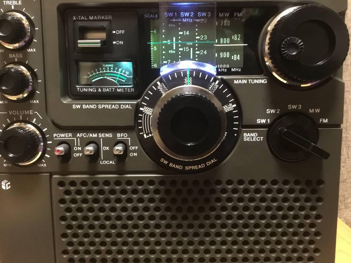 マーカー信号ゼロビート点(6.0MHz)