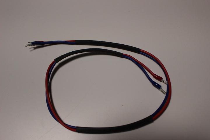 自作コード、太さ1.25mm・長さ約66Cm