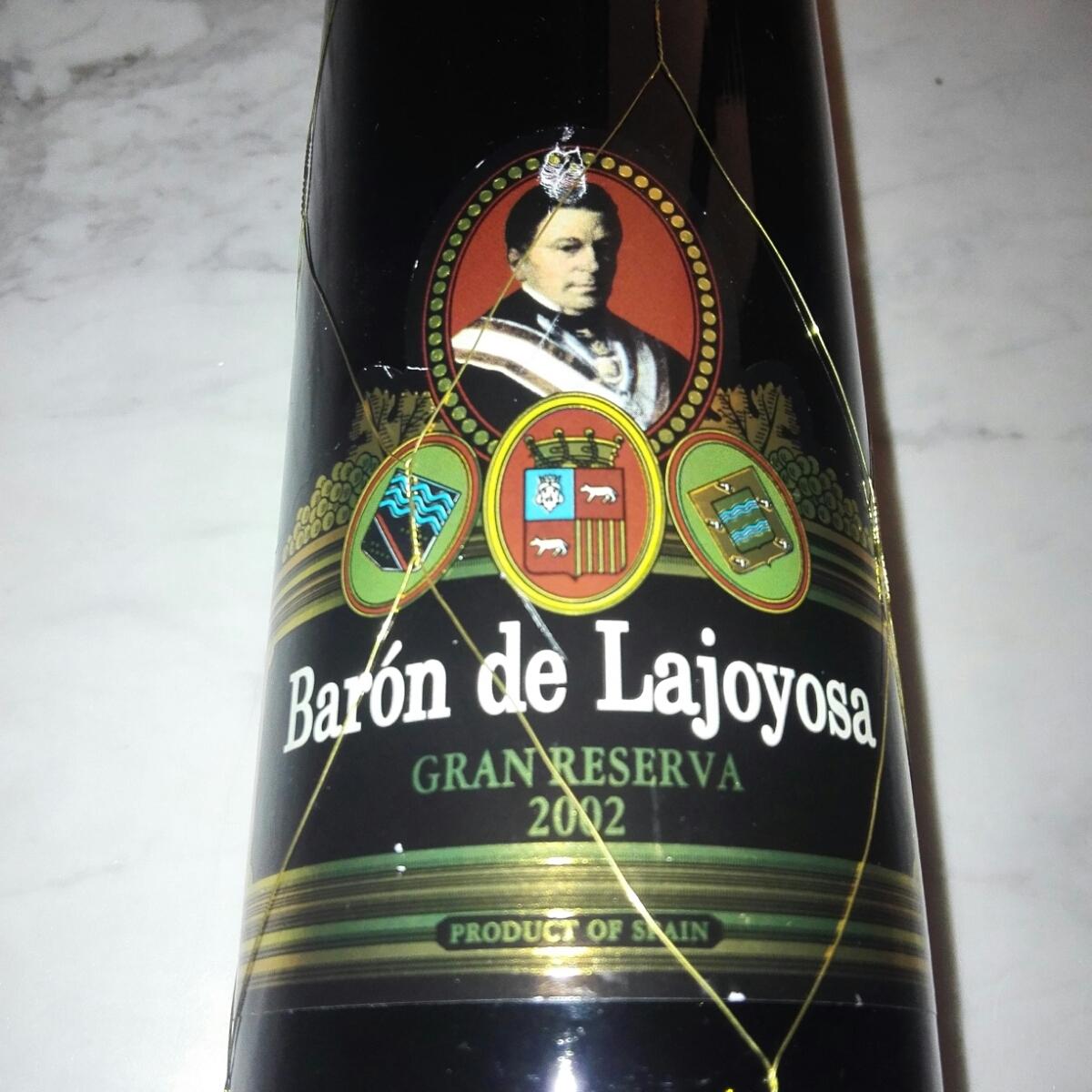 2002年ワイン Baron de Lajoyosa GRAN RESERVA 2002 バロン・ドゥ・ラホヤサ グラン レゼルバ スペイン 赤ワイン ピーロート ジャパン_画像2
