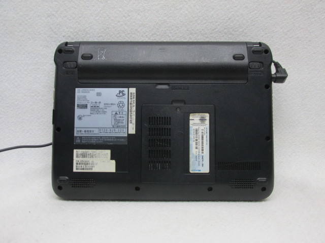 1円~☆Fujitsu Lifebook MH30/C Win10 2GB 250GB Office2016 無線LAN 充電残量5時間30分_画像6
