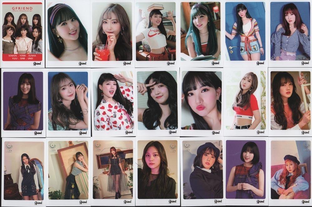 GFRIEND ヨジャチング ミニポストカード 56枚 ポストカード 韓流ショップ 送料無料 gfp0010_画像4