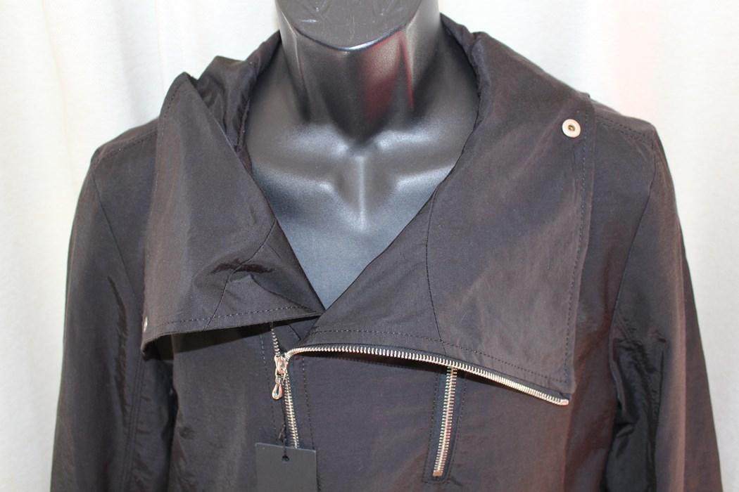 エイチワイエム hym メンズサイドジップブルゾン ジャケット ブラック サイズ48 日本製 新品_画像3