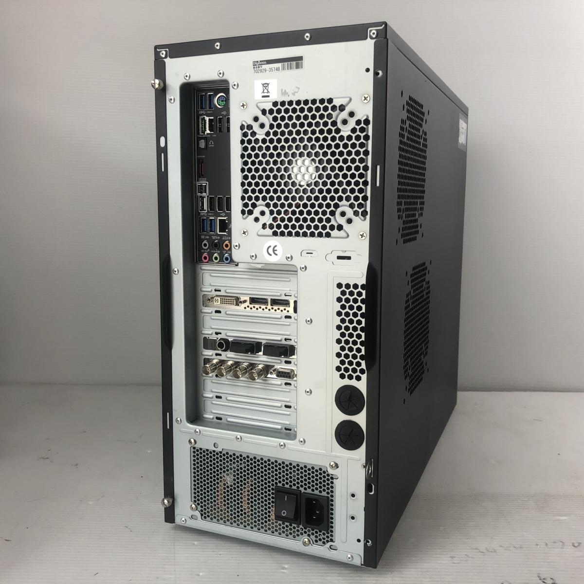 超大容量新品SSD480GB+HDD2TB★自作 高速★6コア i7 3930K★3.8G*12/メモリ16G/Quadro4000/Office2016/DVDスーパーマルチ/USB無線_画像2