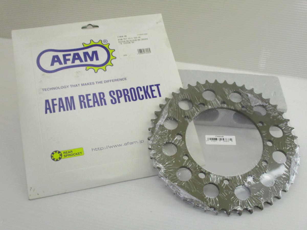■新品・未使用品 AFAM (アファム)スプロケット リア 520/45 ■RZ250R/RR・RZ350R/RR・ZRX400/2 などに バイク 二輪用 在庫あり・即納