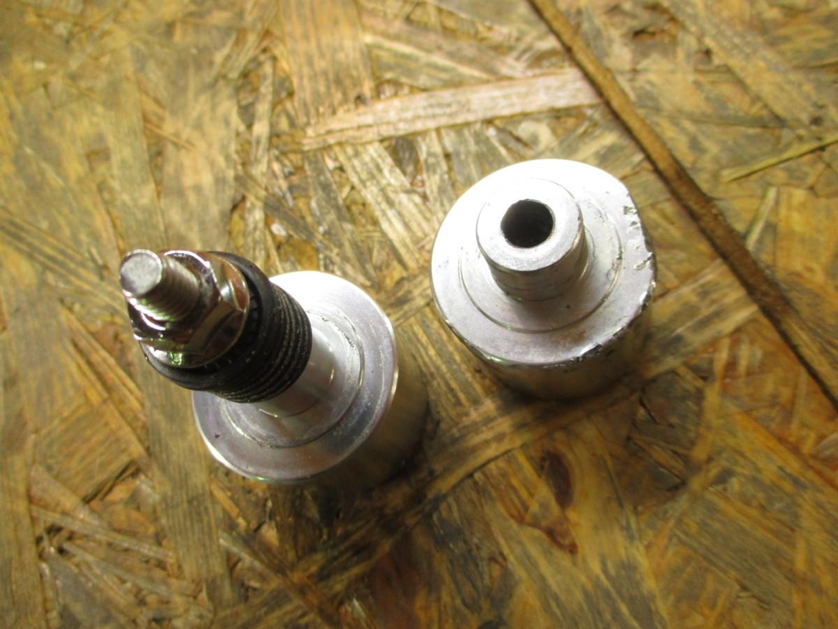 ドゥカティ M400 社外 ハンドルバーエンド ウェイト 補修に モンスター 検 M900 M1000Sie 900SS SS900 SS1000DS ST2 ST4♪_画像2