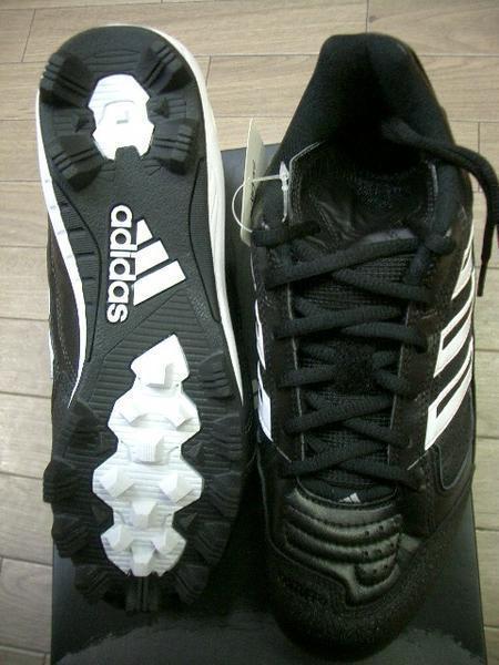 アディダス adidas アメリカンベースボールシューズ 26cm 新品_画像2