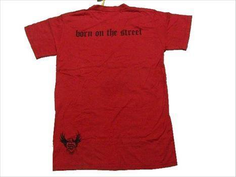 スメット SMET メンズ半袖Tシャツ Sサイズ レッド 新品 赤_画像3