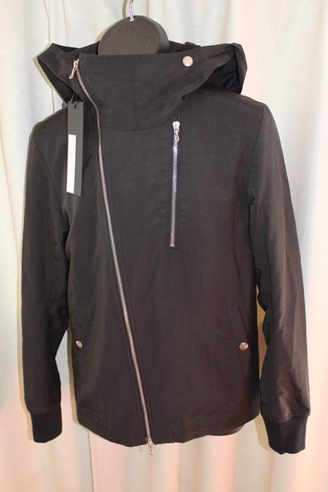 エイチワイエム hym メンズサイドジップブルゾン ジャケット ブラック サイズ48 日本製 新品_画像4