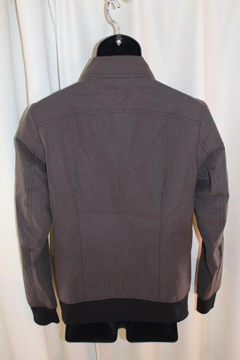 エイチワイエム hym メンズ ジップアップ ブルゾン サイズ46 日本製 新品 ジャケット ライトブラック_画像4