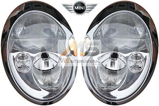 【M's】BMW ミニ R50 R52 R53 (2001y-2006y)純正品 キセノン ヘッドライト 左右//MINI 正規品 日本仕様 6312-6933-840 6312-6933-841_画像1