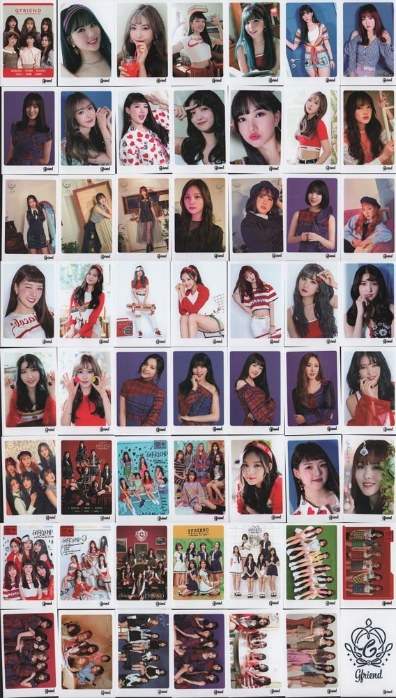 GFRIEND ヨジャチング ミニポストカード 56枚 ポストカード 韓流ショップ 送料無料 gfp0010_画像3