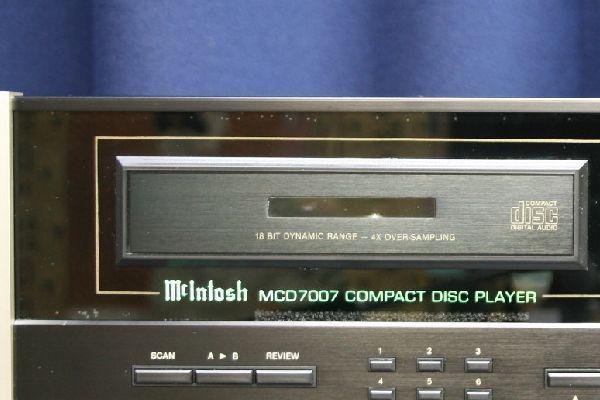中古 CDプレーヤー McIntosh/マッキントッシュ MCD7007_画像7