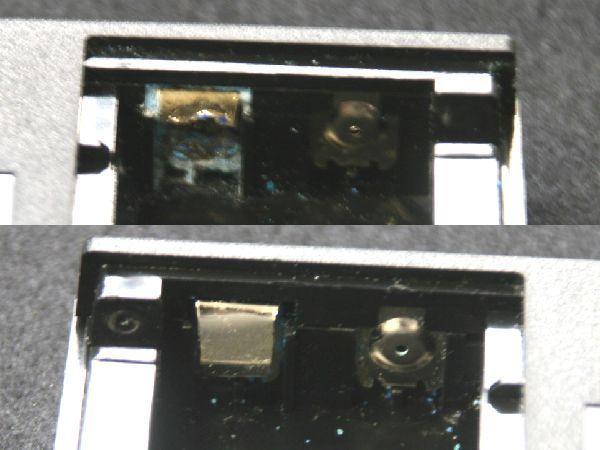 中古 CDプレーヤー McIntosh/マッキントッシュ MCD7007_リモコン液漏れ腐食、ツメ折れあり