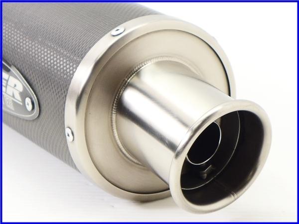R◆良品♪STRIKER カーボン サイレンサーset 60.5Φ♪ZZR1100/1200/1400/CB1300SF/X4/XJR/V-MAX/GSX1300R/GSX1400♪_画像9