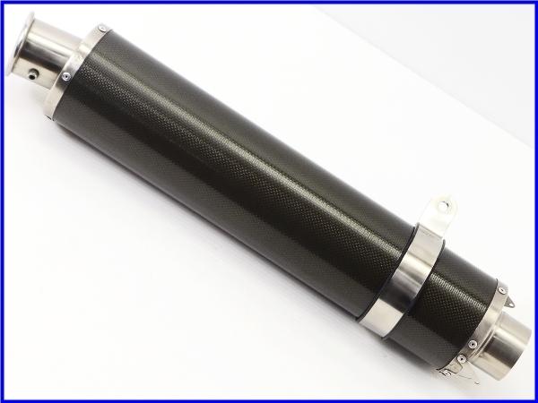 R◆良品♪STRIKER カーボン サイレンサーset 60.5Φ♪ZZR1100/1200/1400/CB1300SF/X4/XJR/V-MAX/GSX1300R/GSX1400♪_画像10