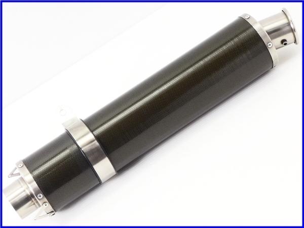 R◆良品♪STRIKER カーボン サイレンサーset 60.5Φ♪ZZR1100/1200/1400/CB1300SF/X4/XJR/V-MAX/GSX1300R/GSX1400♪_画像7