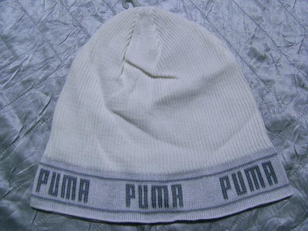 プーマ PUMA ビー二ーキャップ ホワイト 新品 帽子 スポーツ_画像3