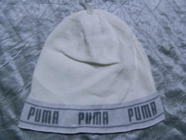 プーマ PUMA ビー二ーキャップ ホワイト 新品 帽子 スポーツ_画像1