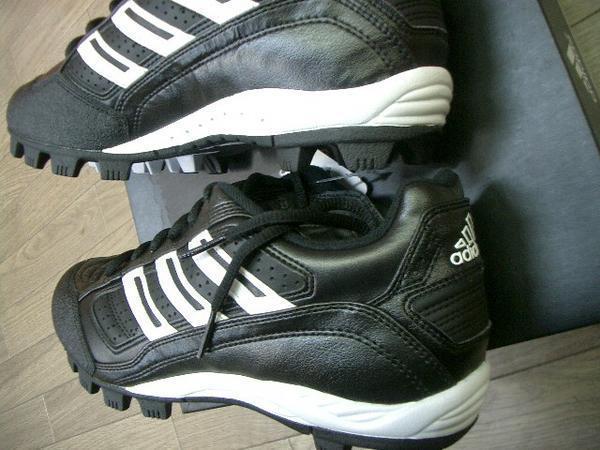 アディダス adidas アメリカンベースボールシューズ 26cm 新品_画像3