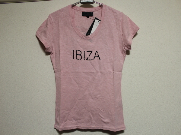 エドハーディー ED HARDY レディース半袖Tシャツ ピンクSサイズ SP052 新品_画像1