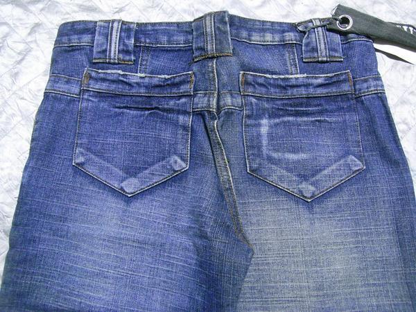 Vainqueur メンズデニムパンツ ブルー XLサイズ 新品 ジーンズ_画像3