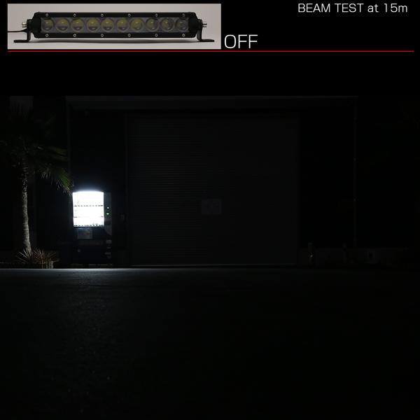 LEDライトバー 11インチ SRシリーズ 50W 3500ルーメン 狭角 ハイパー スポット ワークライト 作業灯 IP67 12V/24V対応 P-502_画像6
