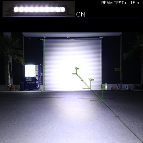 LEDライトバー 11インチ SRシリーズ 50W 3500ルーメン 狭角 ハイパー スポット ワークライト 作業灯 IP67 12V/24V対応 P-502_画像7