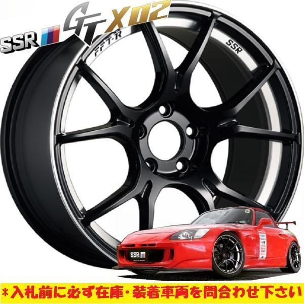 新作 軽量 日本製 FFT-R SSR GTX02 18×7.5J +45 5H100 GB 4本 レガシィ B4 インプレッサ スポーツ G4 86 BRZ アウトバック プリウス CT200_9.5J5Hのイメージになります。