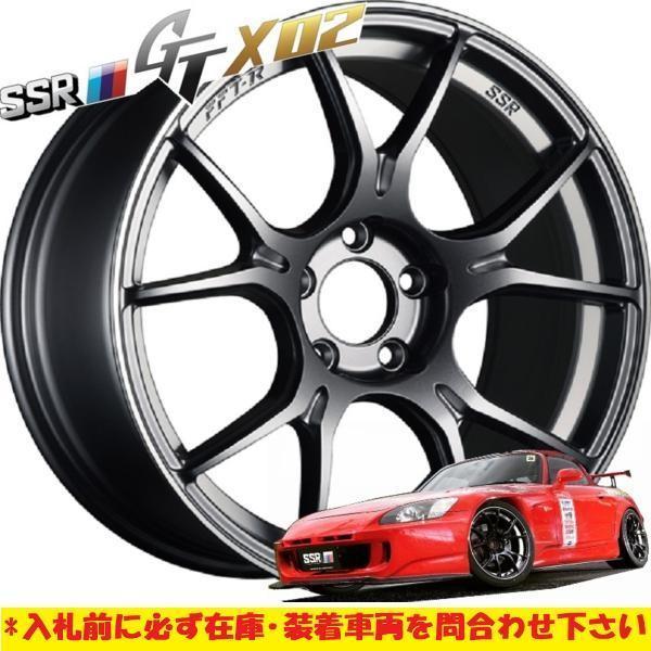 新作 軽量 日本製 FFT-R SSR GTX02 18×7.5J +45 5H100 DS 2本 レガシィ B4 インプレッサ スポーツ G4 86 BRZ アウトバック プリウス CT200_9.5J5Hのイメージになります。