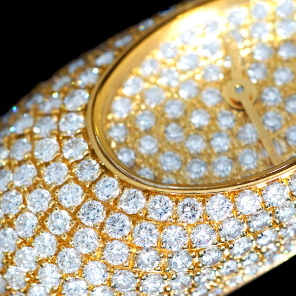 B9961 希少2way【VAN CLEEF&ARPELS】ヴァンクリーフ&アペール 純正ダイヤモンド 最高級18金無垢 レディQZ