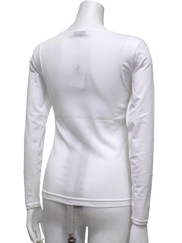 【40%OFF!セール】ブラック&ホワイト/Black&White/春夏/長袖クルーネックシャツ/アンダーシャツ /L_画像7
