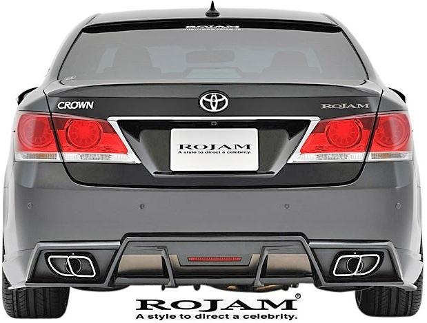 【M's】トヨタ クラウン 210系 (2012/12-2015/9) ROJAM IRT フルエアロ 3点キット 前後LED.Ver (F+S+R)//GRS21 FRP ロジャム エアロ_画像8