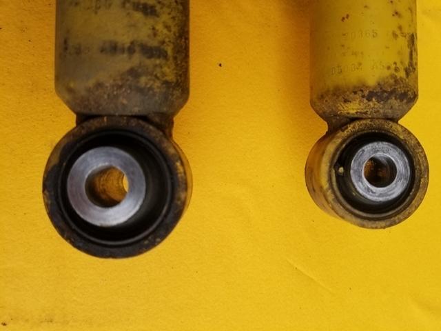 ストラット ショック リア左右 純正 ビルシュタイン タナベ NF210 ダウンサス フロント 右 レガシィ BP5_画像8