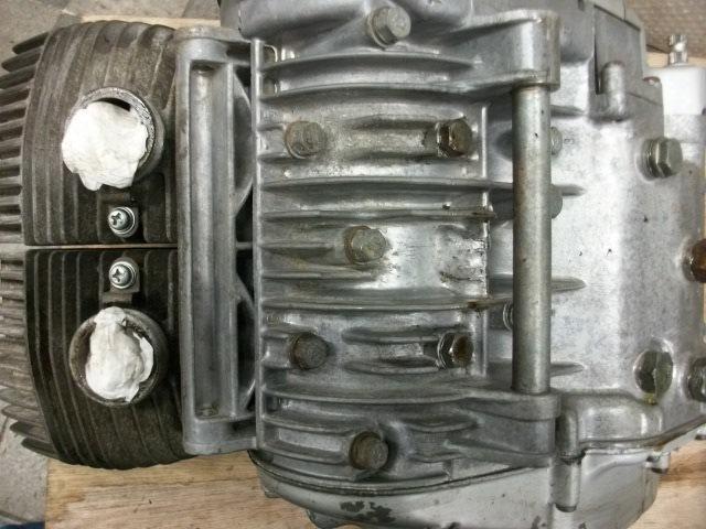 【BST】★スズキ T200 旧車 エンジン 実働 196cc_画像7