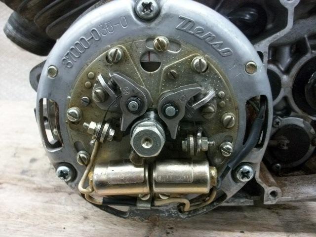 【BST】★スズキ T200 旧車 エンジン 実働 196cc_画像4